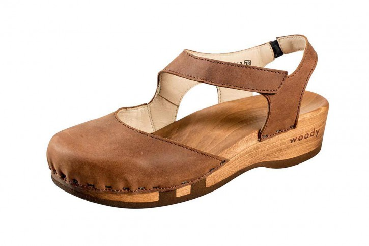 Woody Holzclogs Nicole Tabacco