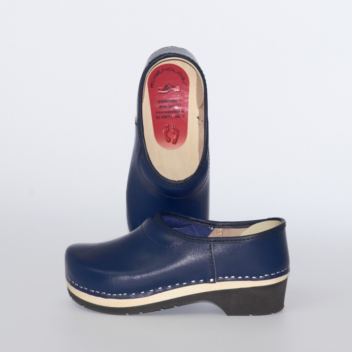 Clogs PU Kaps marineblau