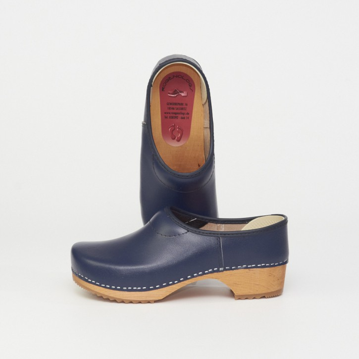 Clogs Kinderkaps marineblau