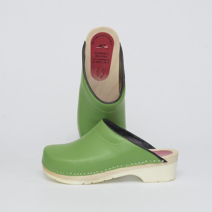 PU Clogs grün