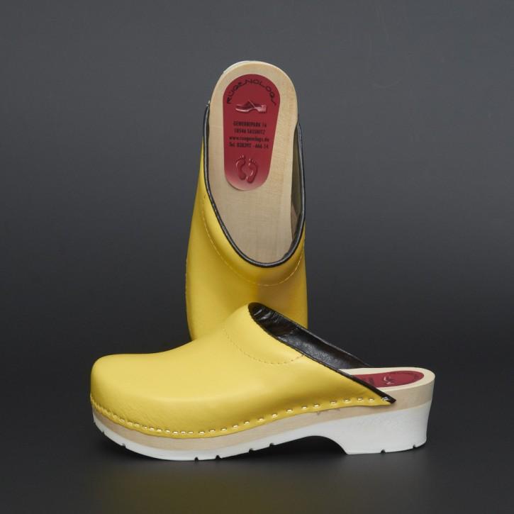 PU Clogs gelb