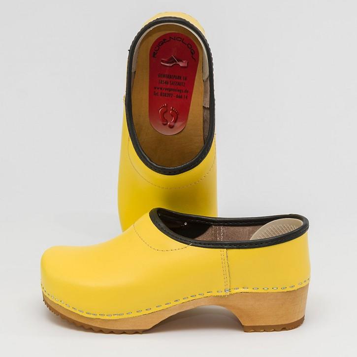 Clogs Kinderkaps gelb