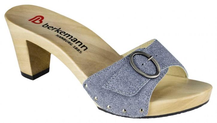Berkemann Holzclogs Beverly jeansblau