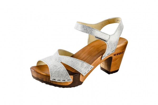 Woody Holzclogs Carmen white