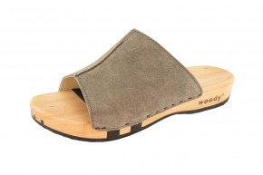 Woody Holzpantolette Anja sand