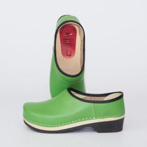 Clogs PU Kaps grün