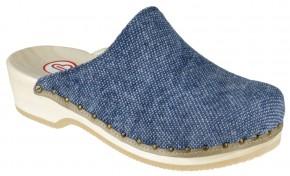 Berkemann Holzclogs Velours Toeffler Jeans Textil Damen & Herren